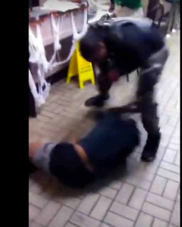 Wild Brawl Breaks Out At Waffle House (Video) Promo Image