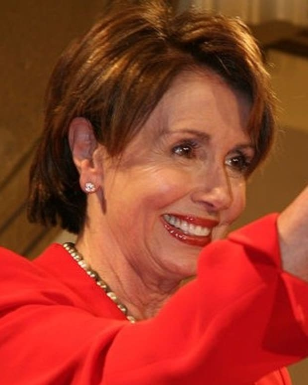 Pelosi Narrowly Wins House Democratic Leader Re-Election Promo Image