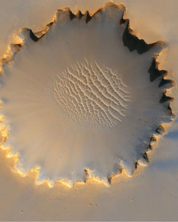 There's A Strange Rock Circle On Mars (Video) Promo Image
