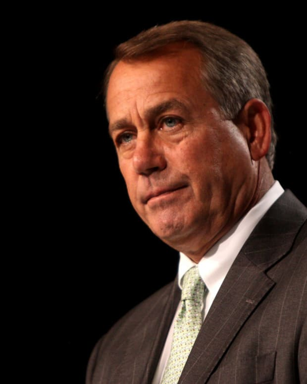 Boehner: Trump's Presidency 'A Complete Disaster' Promo Image