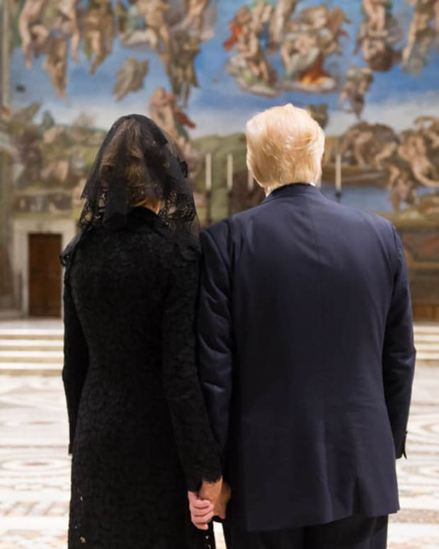 Melania Trump First Catholic FLOTUS In Decades Promo Image