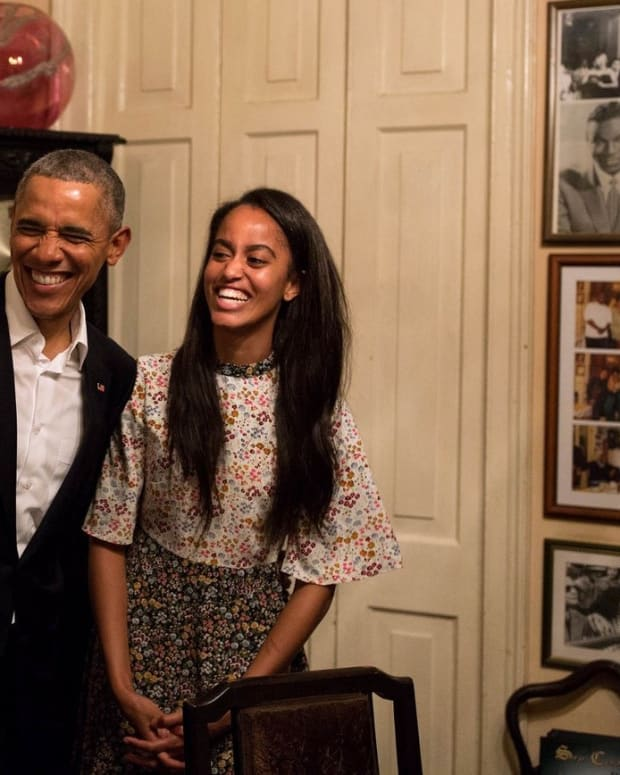 Malia Obama Pictured On Her Way To Work (Photo) Promo Image