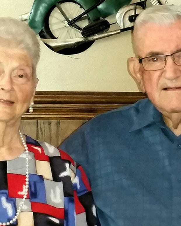 Husband, Wife Of 59 Years Die Holding Hands On Same Day Promo Image