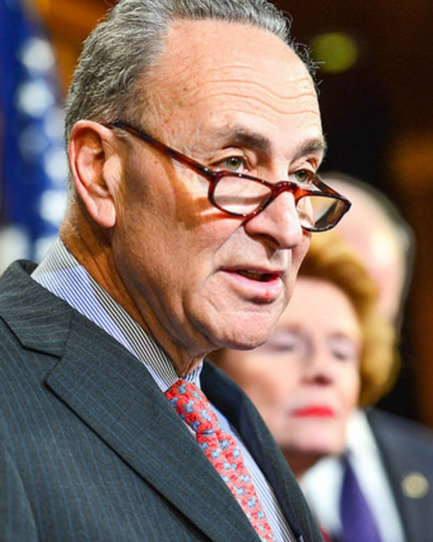 Chuck Schumer: GOP Will Break From Trump Within Months Promo Image
