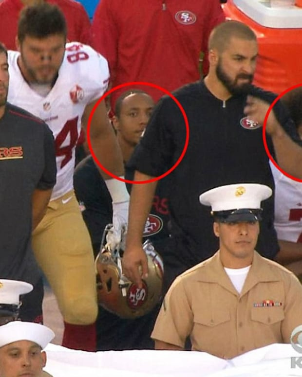 More Players Join Kaepernick's Protest  Promo Image