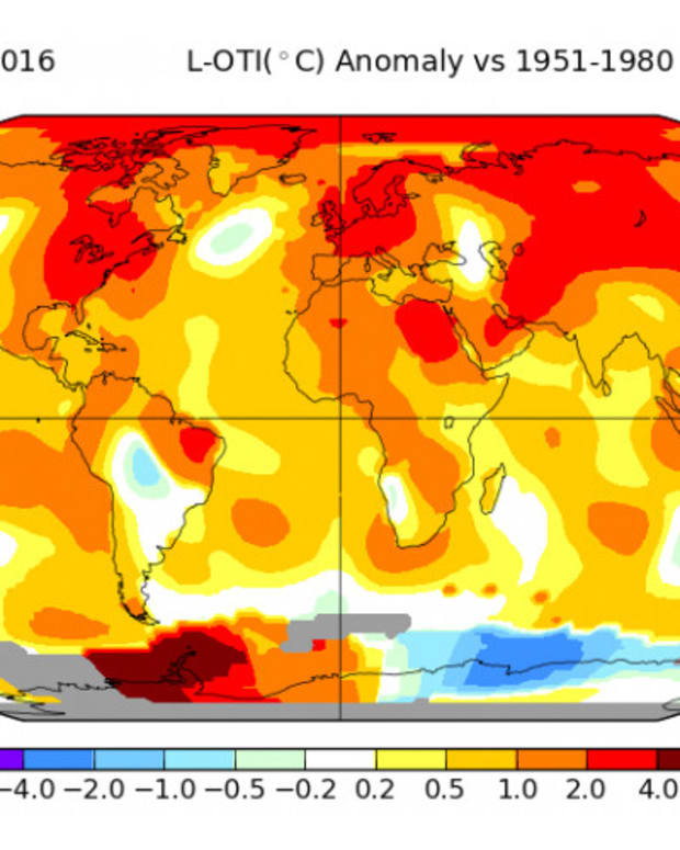 NASA Reports September Is Again Warmest Month On Record Promo Image