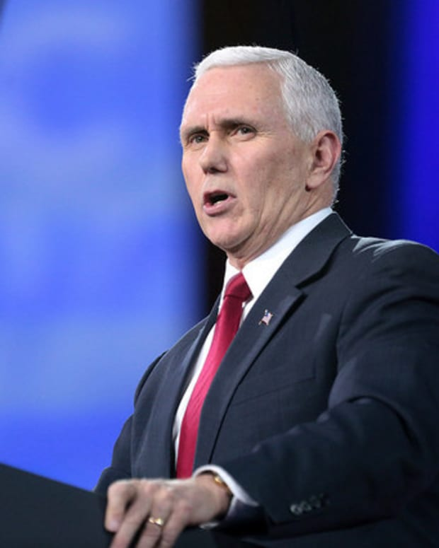 Pence Denies 'Absurd,' 'Offensive' Takeover Claims Promo Image