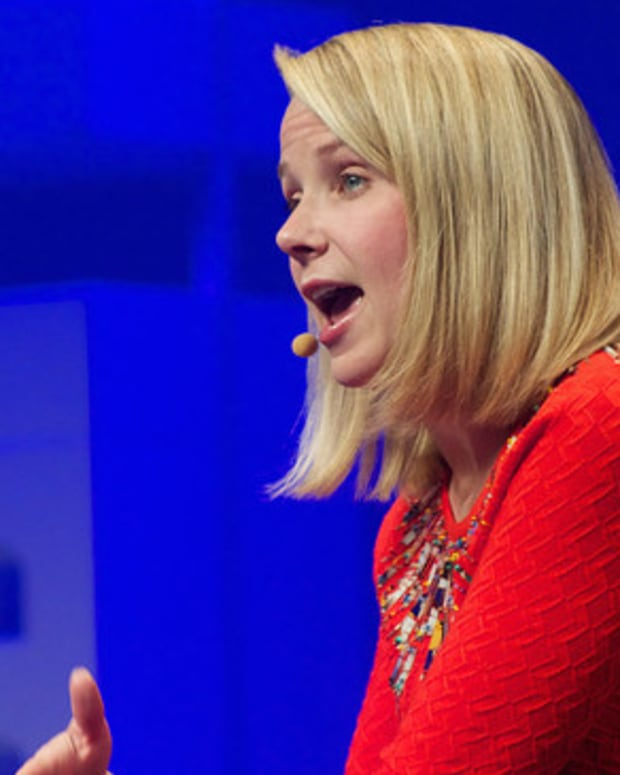 Lawsuit Accuses Yahoo CEO Of Discriminating Against Men Promo Image