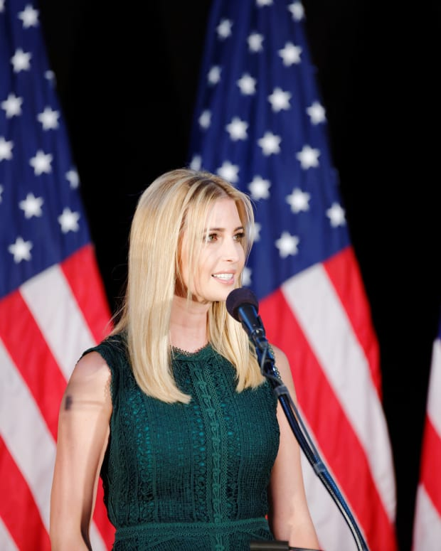 Ivanka Trump Faces Backlash For Inauguration Photo (Photo) Promo Image