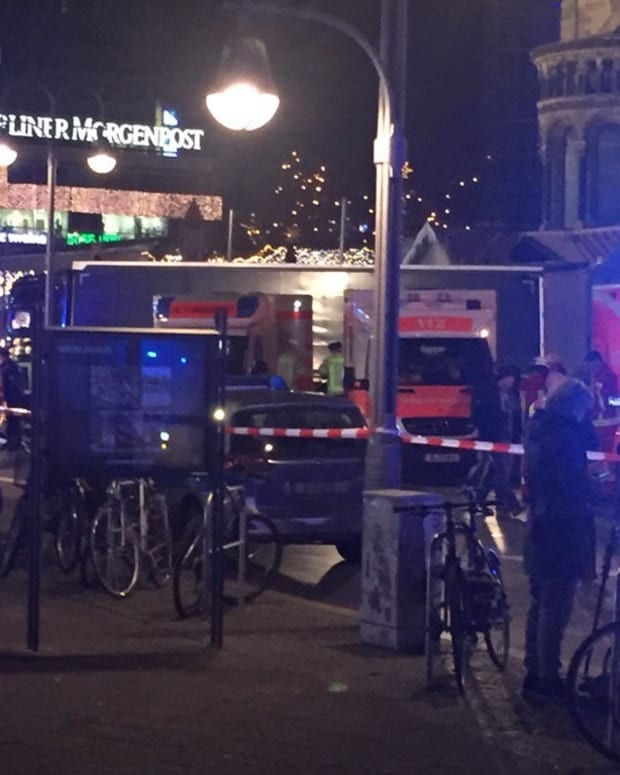 Berlin: Truck Drives Into Crowd In Possible Terror Plot Promo Image