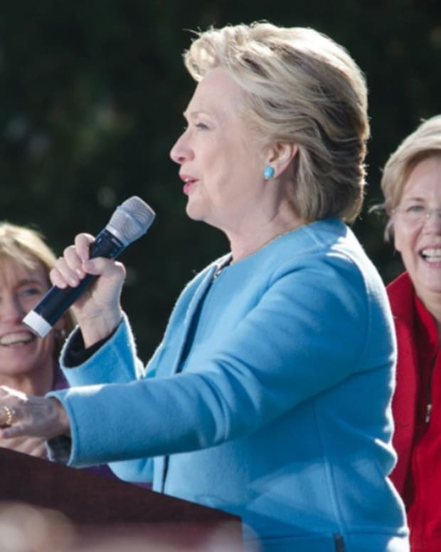Warren: Clinton Lost Because Of Racism Promo Image
