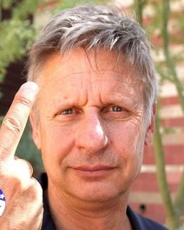 Gary Johnson To End His Political Career Promo Image