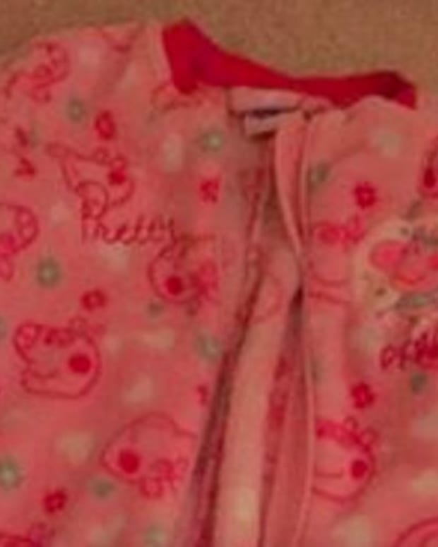 Mother Warns Parents About Risk Of Onesies  Promo Image