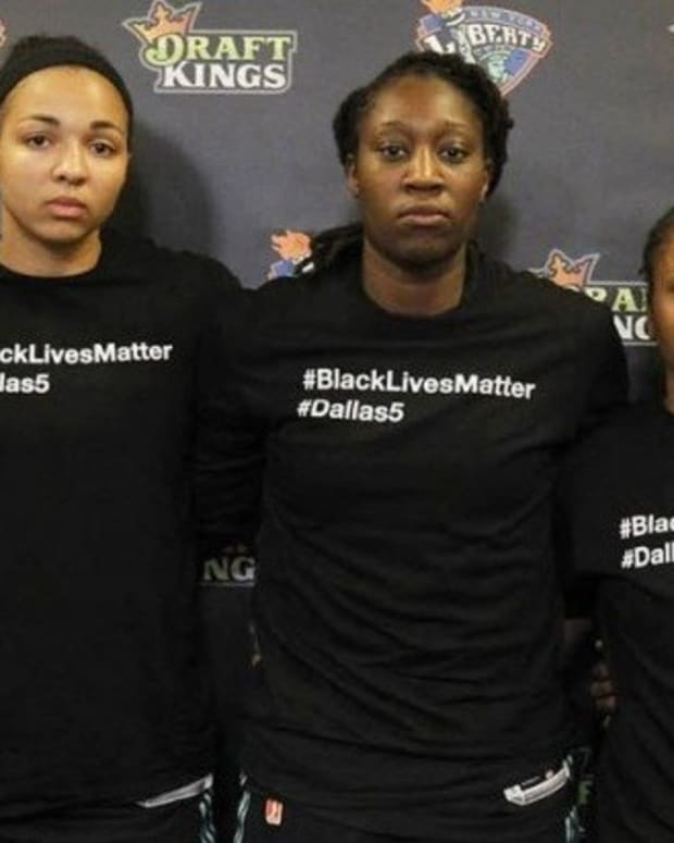 WNBA Fines Players Wearing Black Lives Matter Shirts Promo Image