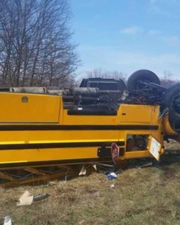 School Officials Left At A Loss For Words After Discovering Cause Of Horrific School Bus Accident Promo Image