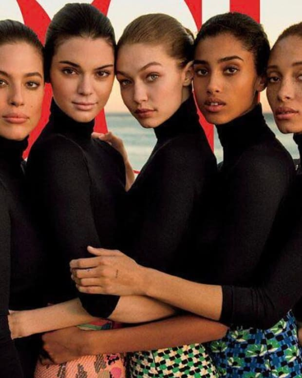 Ashley Graham Defends Her Controversial Vogue Cover Promo Image