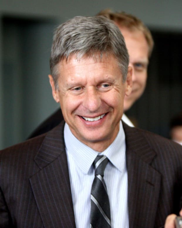 Gary Johnson Should Not Be In Debates Promo Image