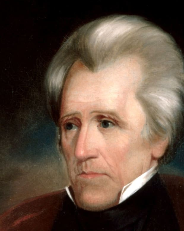 Trump Hangs Andrew Jackson Portrait In Oval Office Promo Image