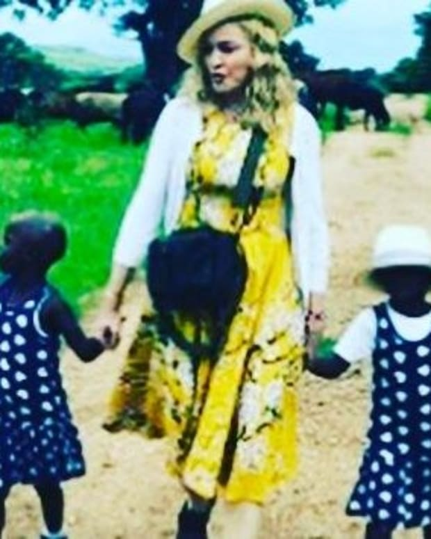 Madonna Looks 'Creepy' In Instagram Clip (Video) Promo Image