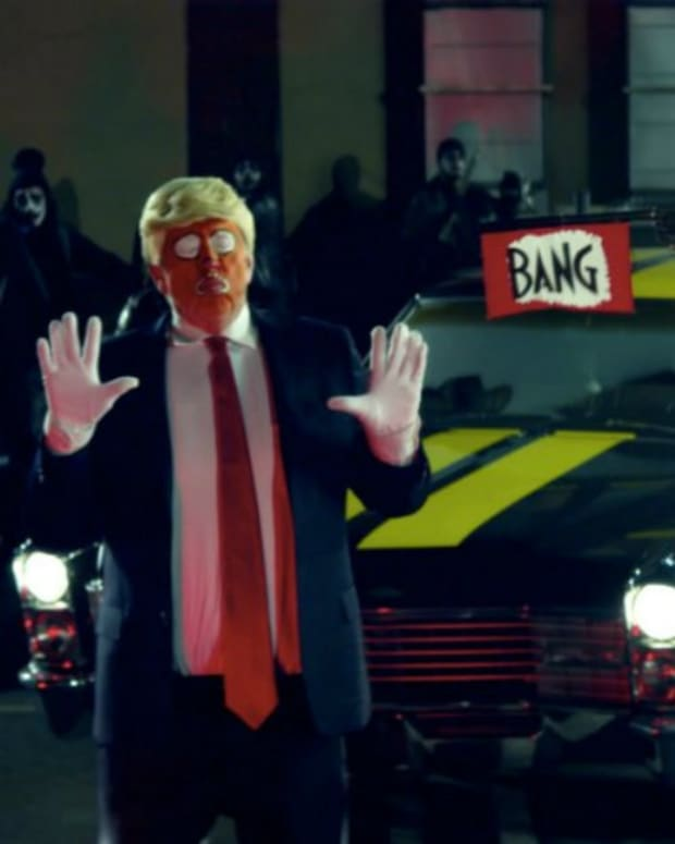 Snoop Dogg Mock-Assassinates Trump In Latest Video (Video) Promo Image