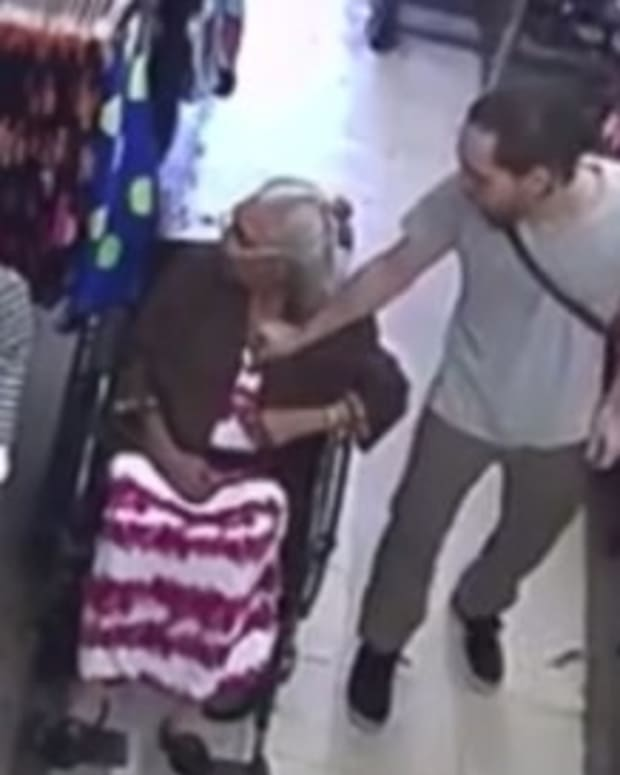 Man Steals Woman's Pension Money From Bra (Video) Promo Image