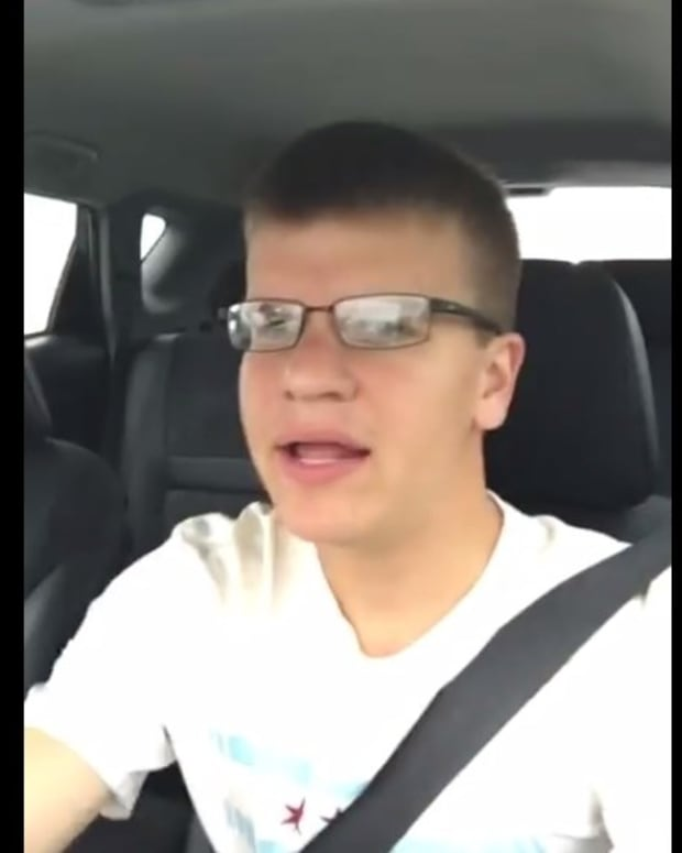 Man Crashes Car While Recording Himself Singing (Video) Promo Image