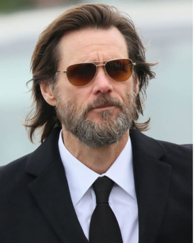 Texts Between Carrey And Late Ex-Girlfriend Released Promo Image