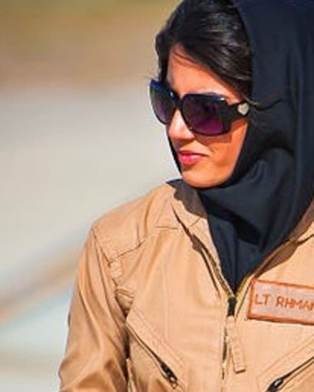 Female Afghani Pilot Seeks Asylum In US Promo Image