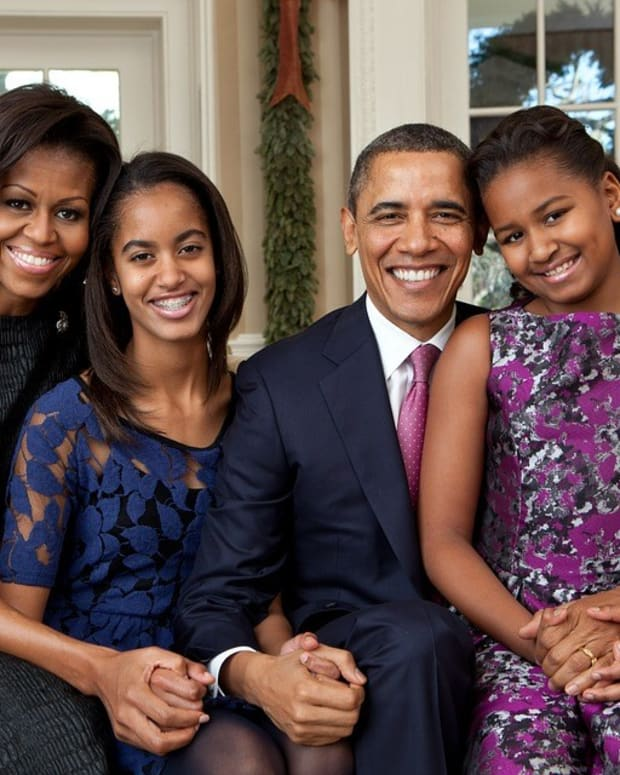 Sasha Obama's Sweet 16 Dress Sparks Debate (Photos) Promo Image