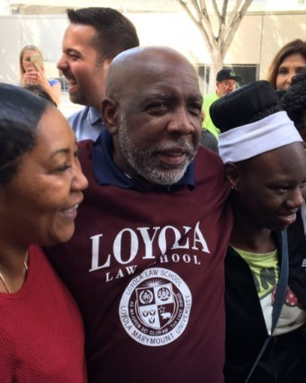 Wrongfully Convicted Man Leaves Prison After 32 Years Promo Image