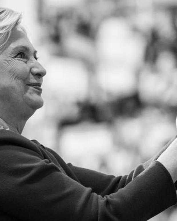 Will Trump Send Clinton To Jail? Promo Image