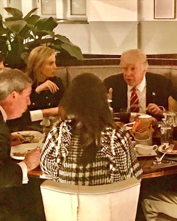 Here's What Happened At Trump's Private Dinner Promo Image