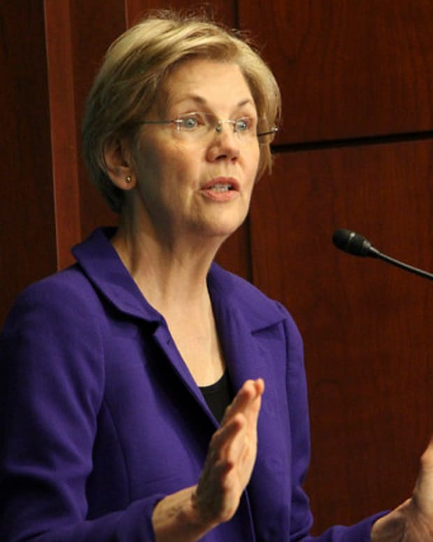 Warren Targets Trump's Potential Conflicts Of Interest Promo Image