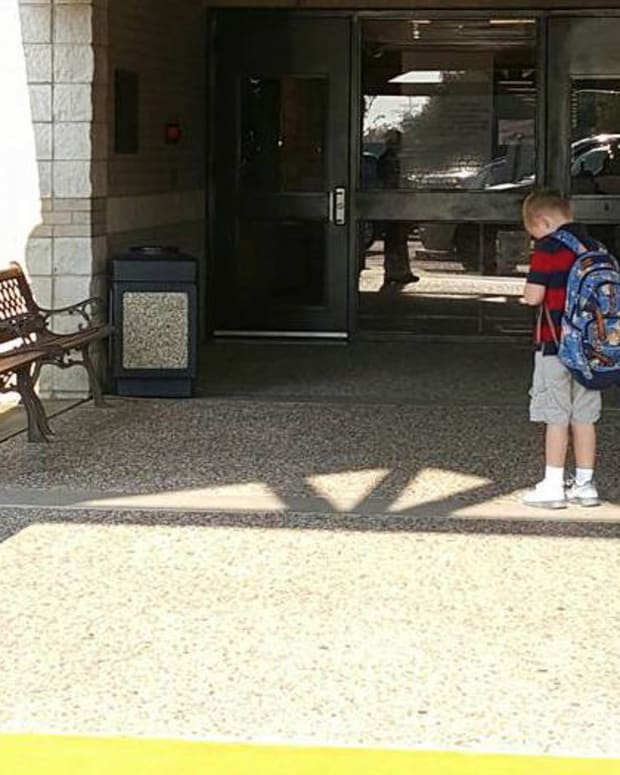 Boy Makes Mom Proud By Not Getting To Class On Time Promo Image
