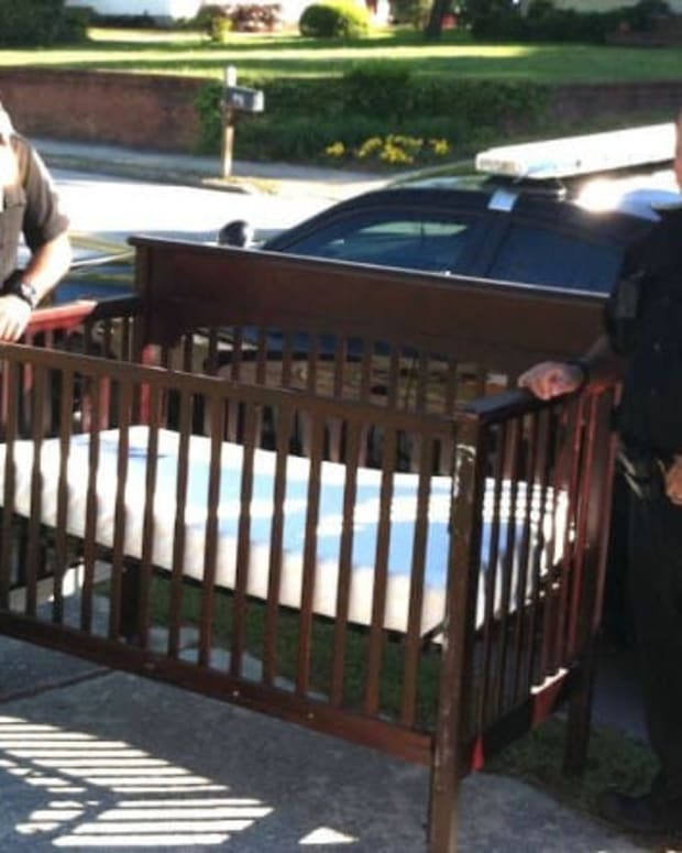 Cops Ask Grieving Mom For Baby's Crib  Promo Image