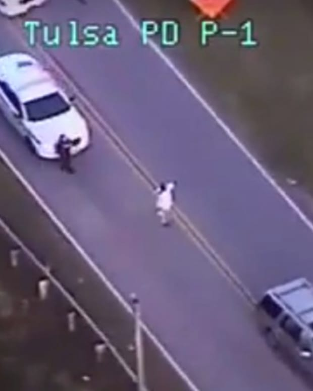 Black Man Had Hands Up When Tulsa Cop Killed Him (Video) Promo Image