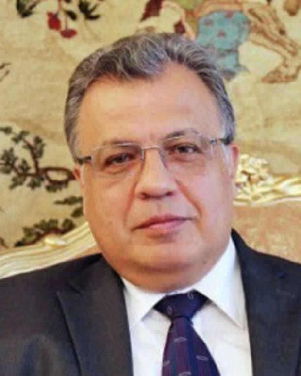 Alleged Terrorist Kills Russian Ambassador In Turkey Promo Image