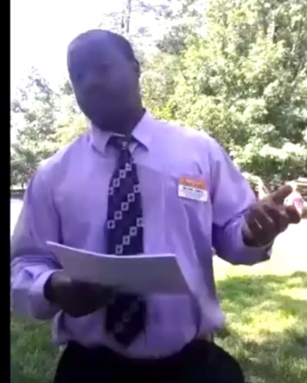 Clemson University Official Confronts Praying Man (Video) Promo Image
