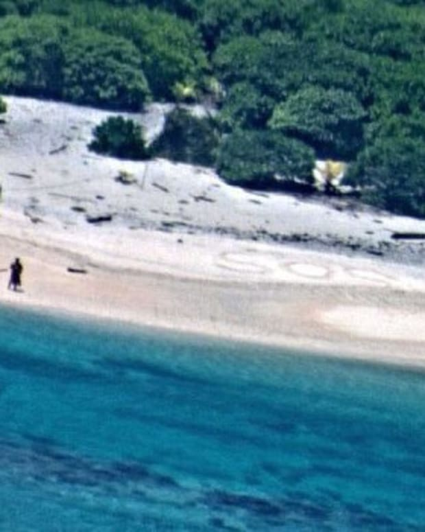Missing Couple Rescued After Their SOS Sign Is Spotted Promo Image