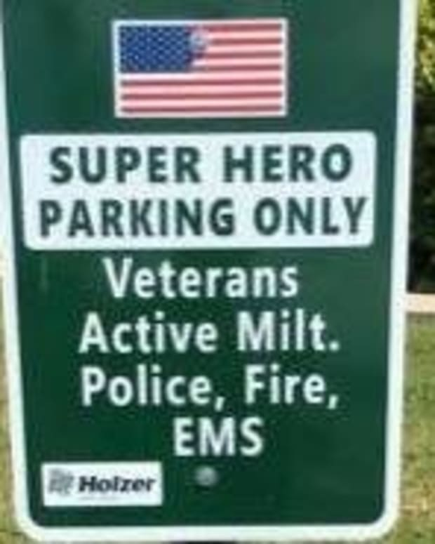 'Super Hero Parking Only' Sign Goes Viral (Photo) Promo Image