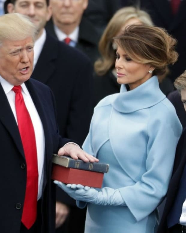 Viewers React To Barron Trump's Face At Inauguration  Promo Image