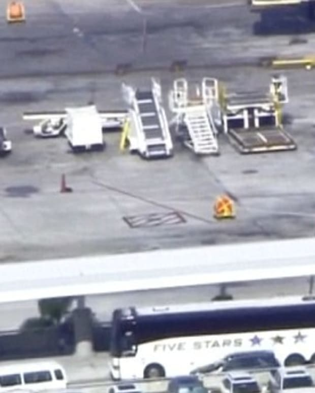 One Dead, Nine Shot At Ft. Lauderdale Airport Promo Image