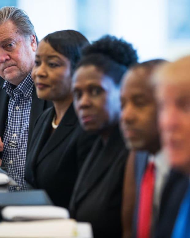 Critics Decry Trump's Controversial Chief Strategist Pick Promo Image