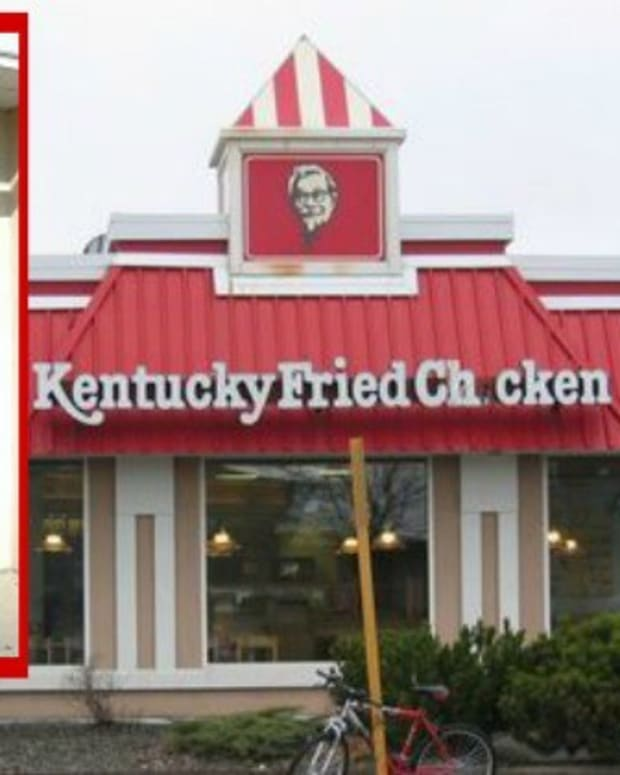 KFC Customers Shocked By Sign On Front Door (Photo) Promo Image