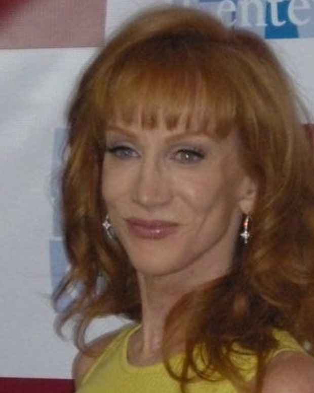 Kathy Griffin Holds Trump's Bloody Head (Photo) Promo Image