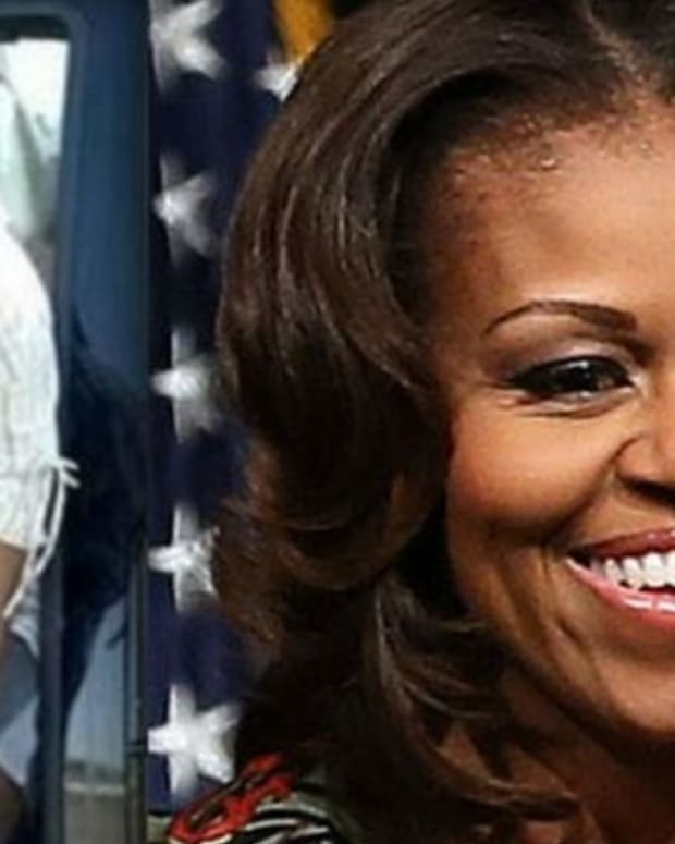 Michelle Obama Tells Crowd She Was A Sex Symbol, Gets Unexpected Response Promo Image