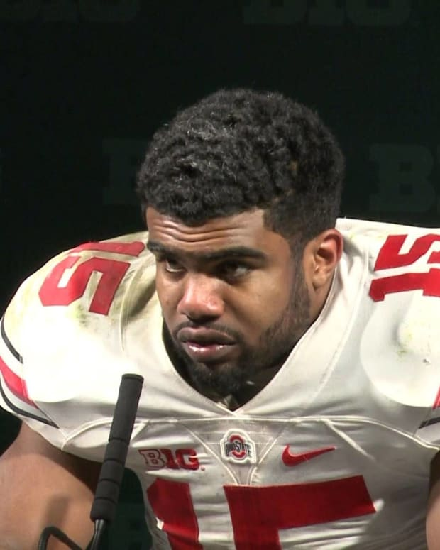 Outrage Over Ezekiel Elliott Pulling A Woman's Shirt Down (Video) Promo Image
