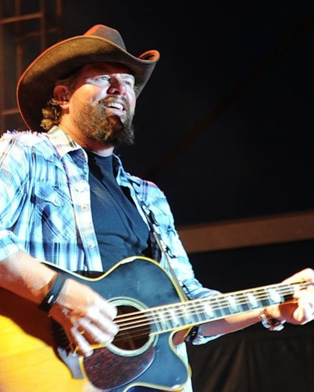Toby Keith To Perform For Trump's Saudi Arabia Visit Promo Image