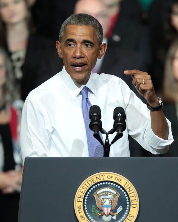 Morehouse College Celebrates Obama On President's Day Promo Image