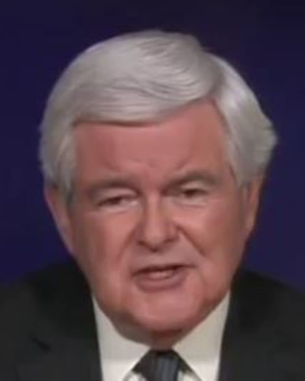 'Keep This Tape': Gingrich Predicts Trump Win (Video) Promo Image